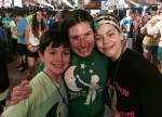 Katlyn Elliot with the Messina kids 2015 THON