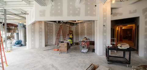 Morgan Academic Center for Student-Athletes Construction on Schedule