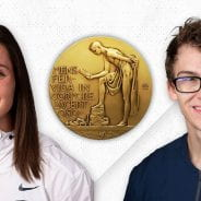 Riehl and Nedoroscik Claim Big Ten Medal of Honor
